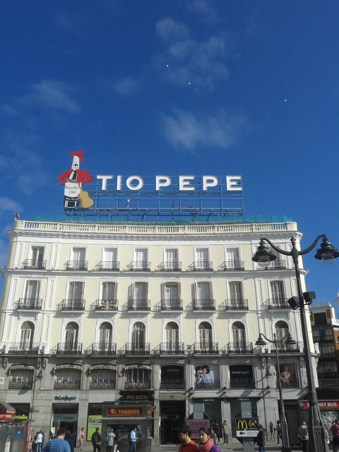T o pepe madrid recupera un icono for Cartel del tio pepe