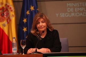 Engracia Hidalgo, secretaria de Estado de Empleo.