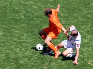 Robben regate