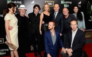 Todos los actores principales de la serie.