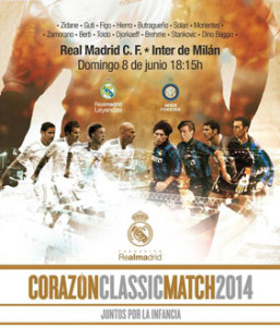 cartel Real Madrid-Inter