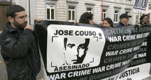 Una de las manifestaciones a favor de la investigación de la muerte de José Couso.