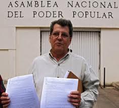 El fallecido Oswaldo Payá.