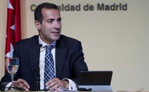 Salvador Victoria en rueda de prensa tras el consejo de Gobierno.