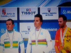 Valverde podio