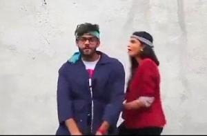 Una imagen del controvertido vídeo.