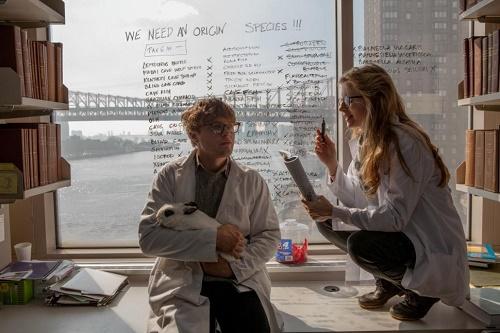 Una secuencia de la película con los protagonistas.