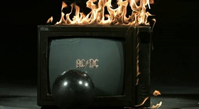 Carátula del nuevo disco de AC/DC.