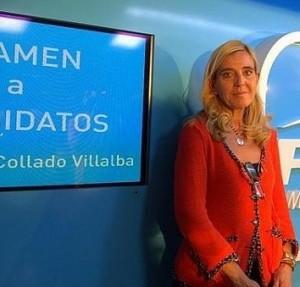 Mariola Vargas, alcaldesa de Collado Villalba.