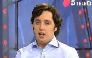 Una de sus apariciones en Telecinco.