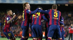 Barça abrazos.