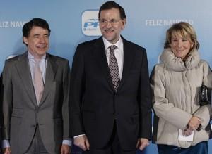 Qué tiempo felices aquellos entre González, Rajoy y Aguirre.