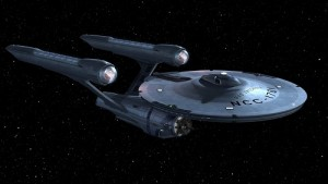 El USS-Enterprise sigue en busca de nuevos mundos.