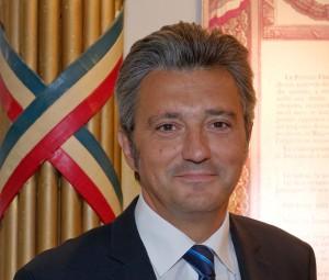 Daniel Keller, Gran Maestro del Gran Oriente de Francia.