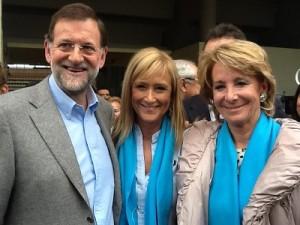 Rajoy, Cifuentes y Aguirre, los cosechadores de melones.
