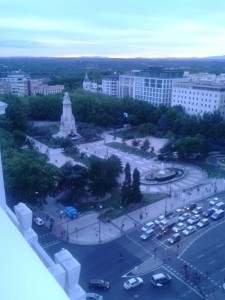 Vista Plaza de España